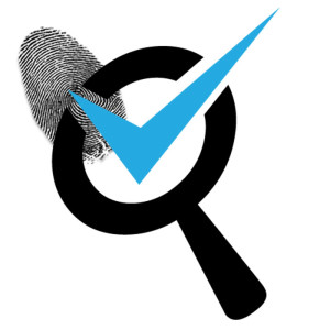 Background Check Finger Print Icon